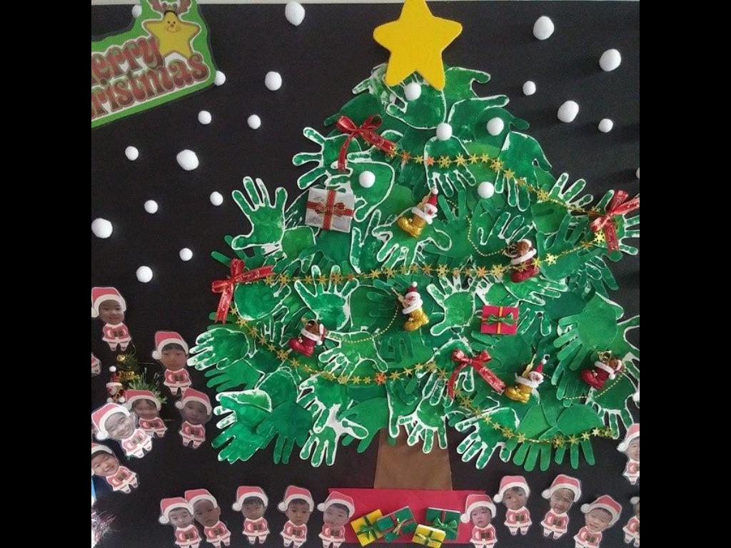 елка в детском саду из фотографий
