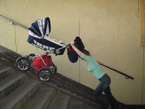 антиреклама колясок