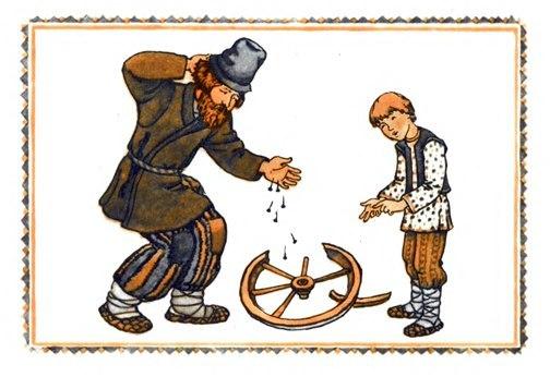 русские народные древние словянские игры считалка гвозди