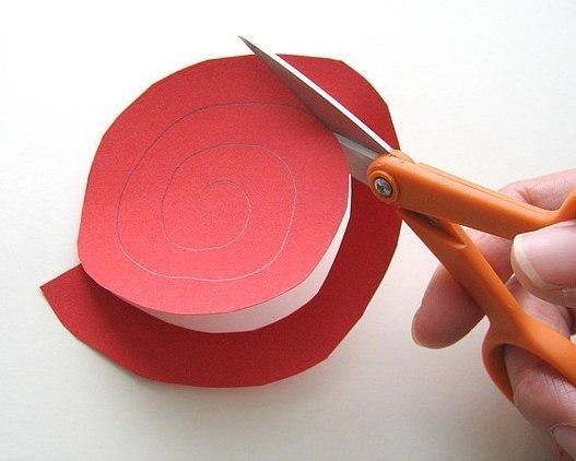 мастер класс как сделать цветы своими руками вырезаем ножницами mamaclub.ru
