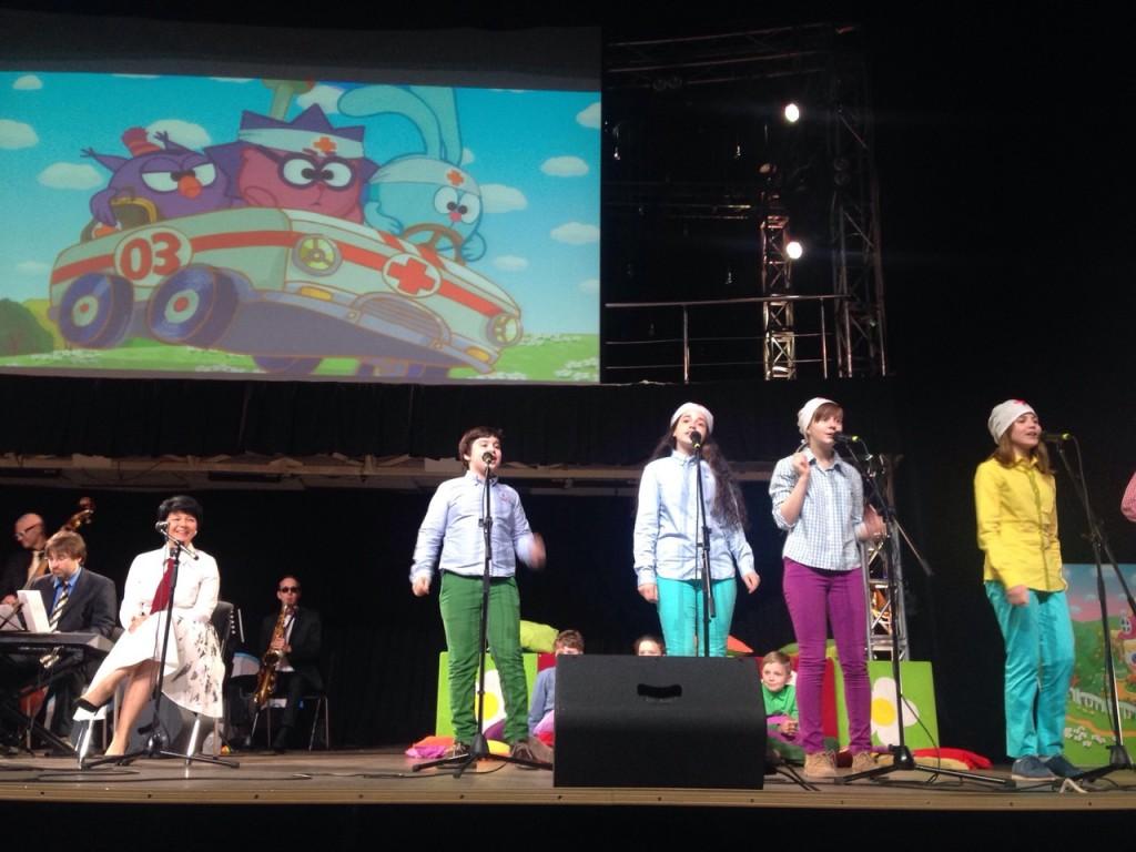 концерт смешариков в Петербурге
