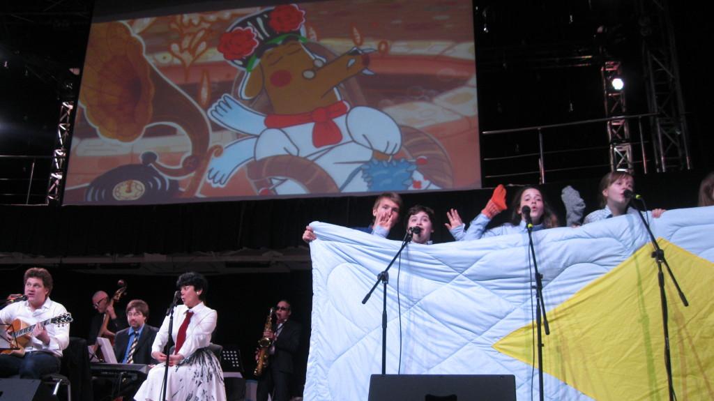 МамаКлуб на концерте у смешариков в Петербурге