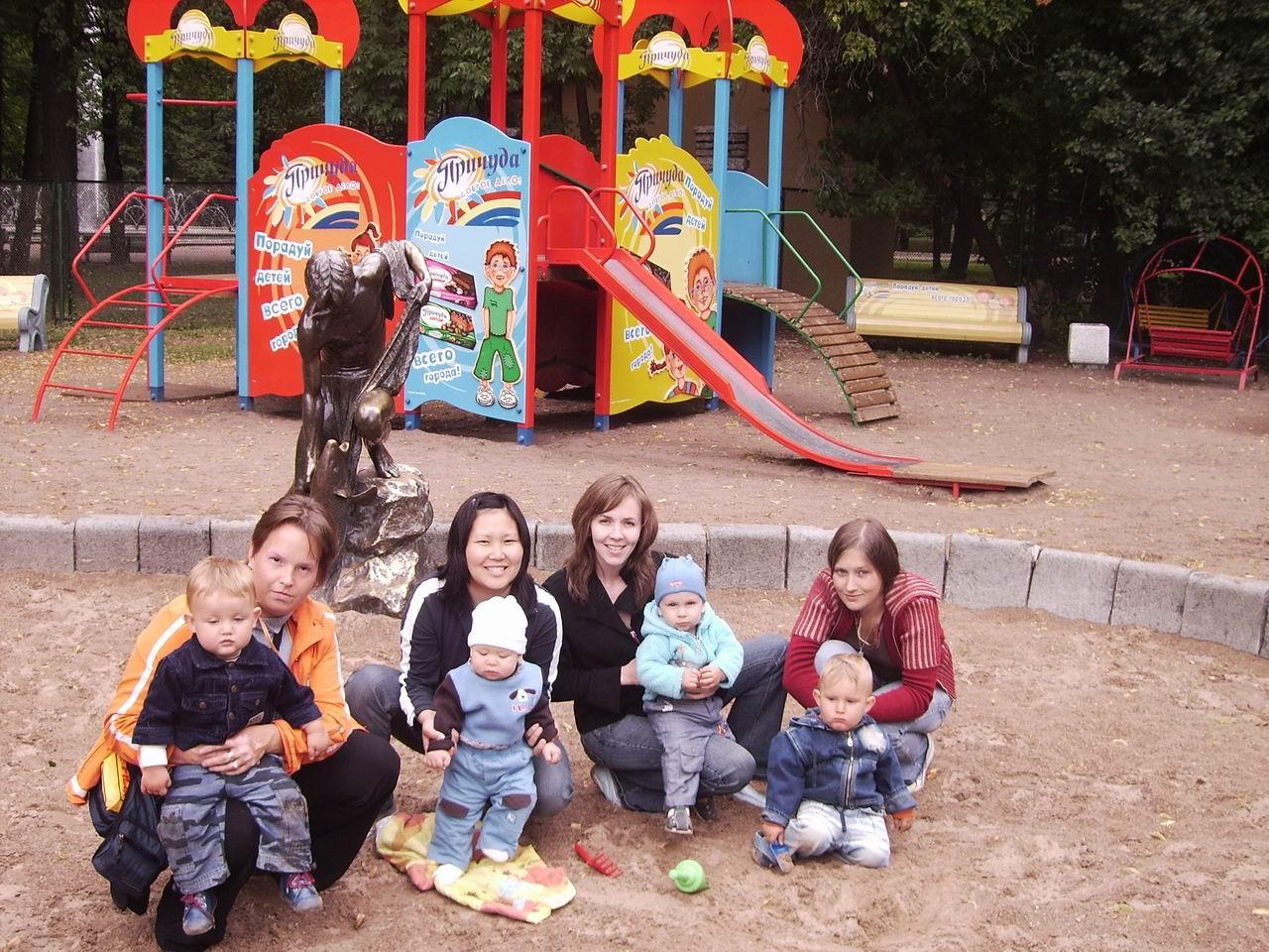 Мамина школа в Парке победы июль 2006