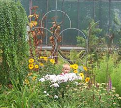 Мамина школа в Ботаническом саду сентябрь 2006