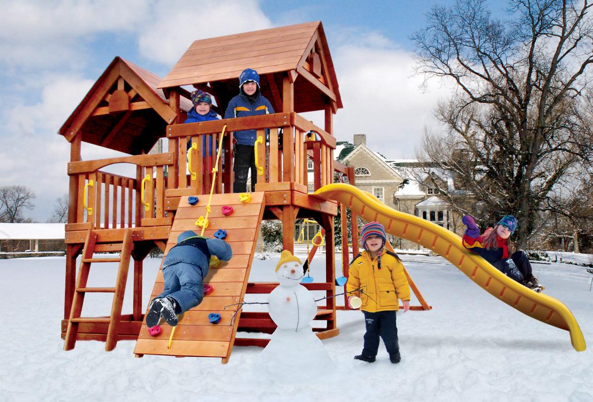 подвижные игры зимой