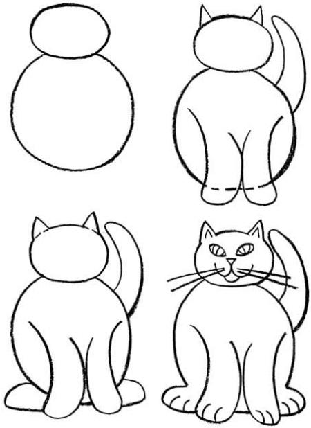 Как нарисовать домашних