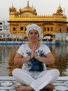 Елена Гариб в Индии