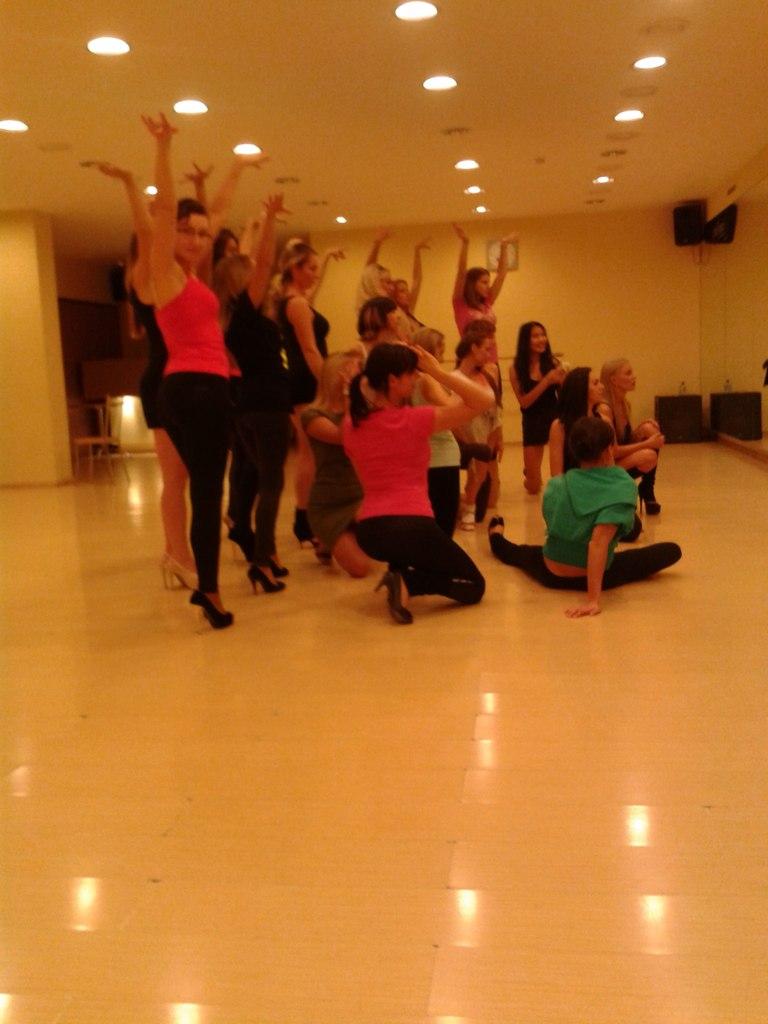 танец конкурс красоты