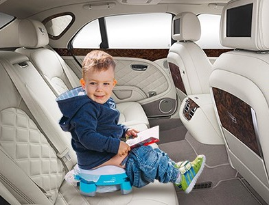 Складной дорожный детский горшок для путешествий handypotty